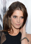 Ashley Greene at DKNY fashion show-07