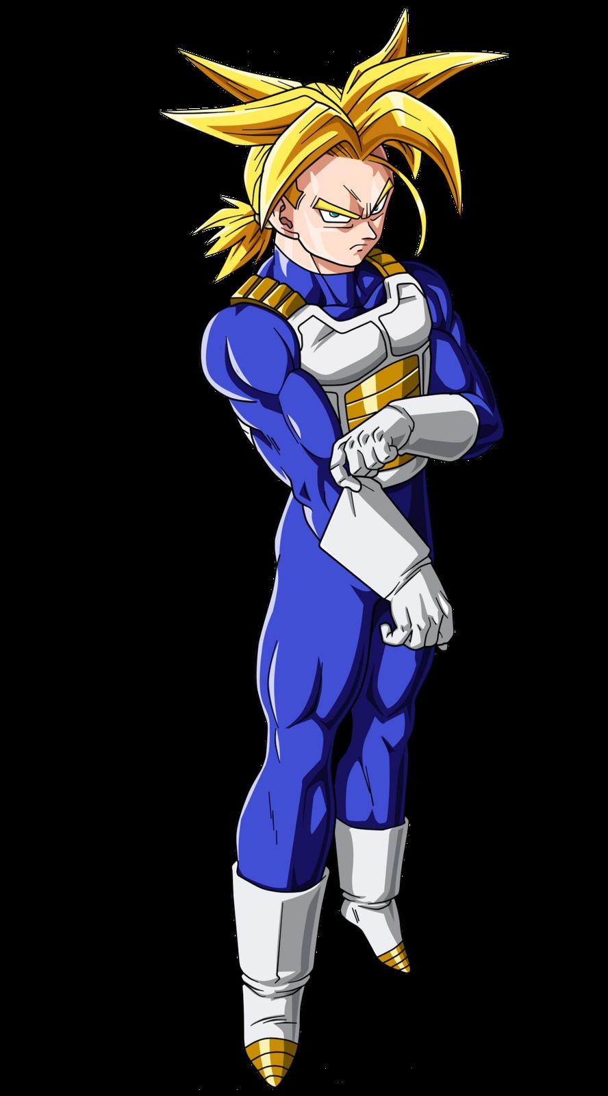Trunks del futuro super saiyajin dragon ball wiki - Trunk super sayen ...