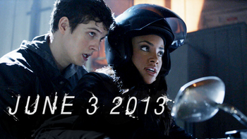 Teen Wolf Wikia Season 3 Behind the Scenes First Image Daniel Sharman Meagan Tandy