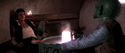 Greedo shoots first