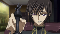 Lelouch playing Chess