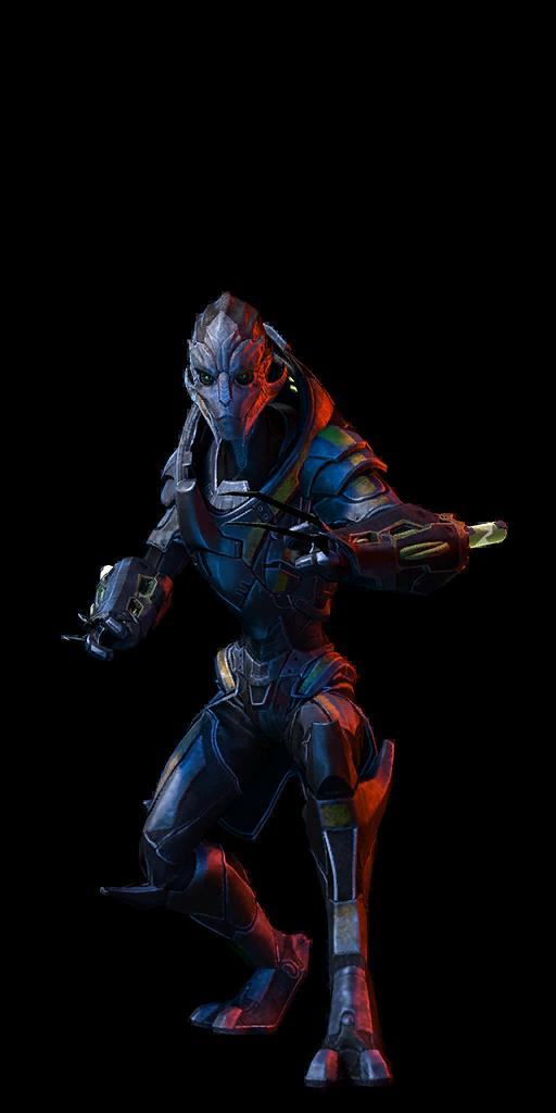 Mass Effect  Volus Adept Build