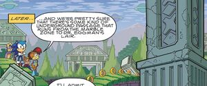 Marble Zone in the Archie comic
