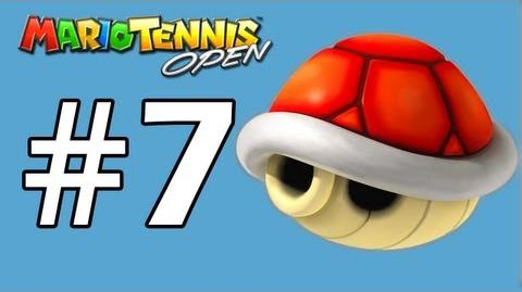 Mario Tennis Open Walkthrough Shell Cup Yoshi QR Codes - Part 7