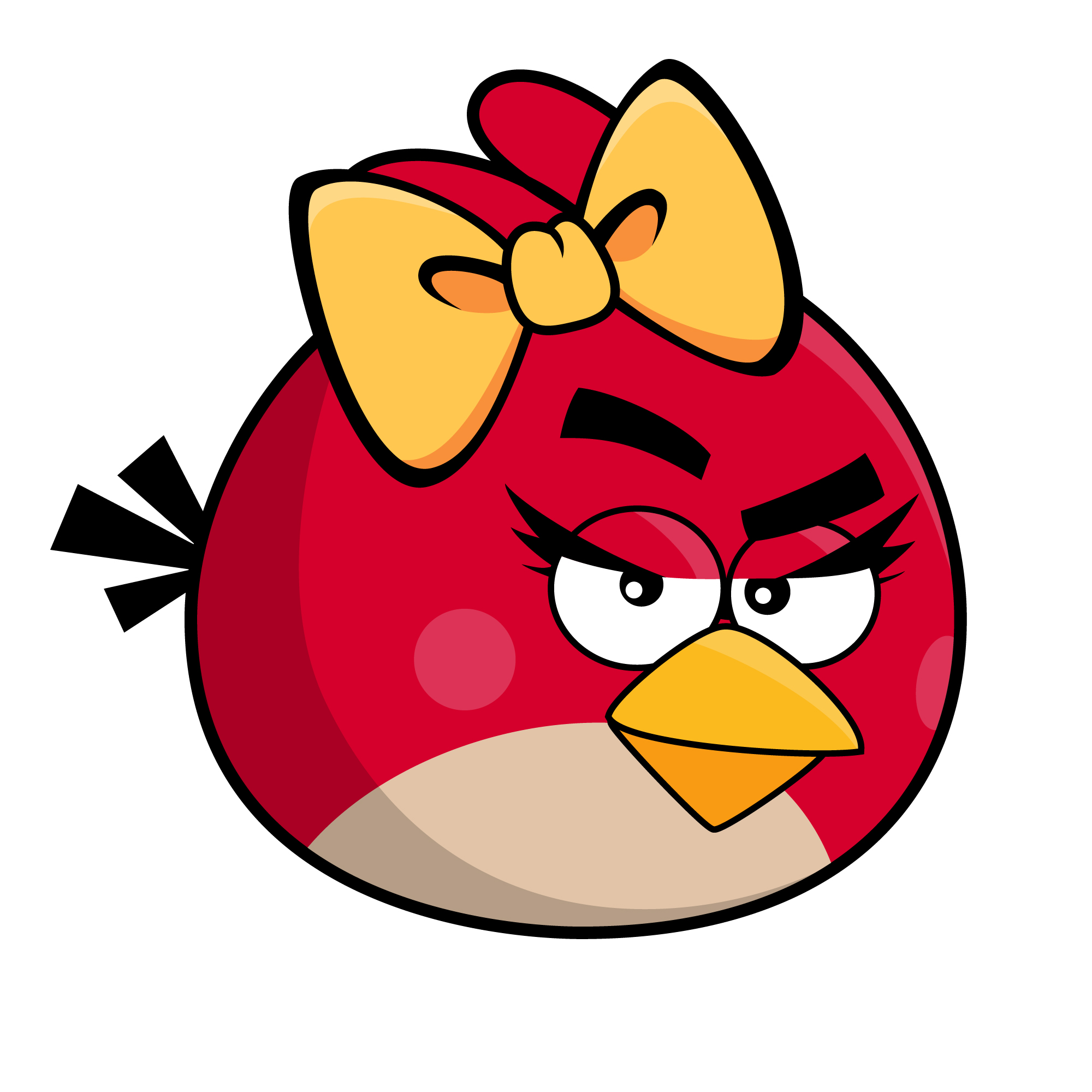 female red bird angry birds fanon wiki. Black Bedroom Furniture Sets. Home Design Ideas
