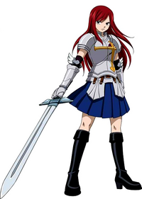 Erza Scarlet&#39;s Heart Kreuz Armor