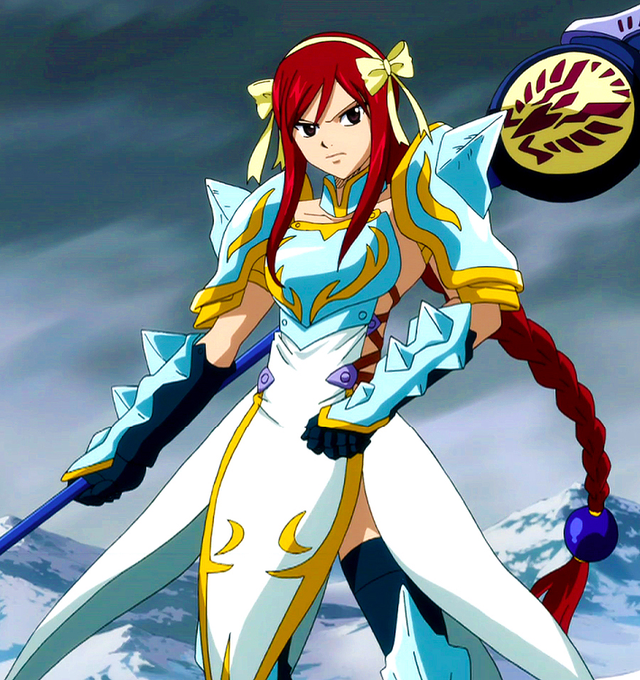 Lightning empress armor fairy tail wiki the site for - Image manga fairy tail ...