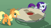 Applejack and Rarity helping too S2E24