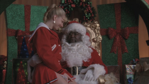 Brittany and Santa
