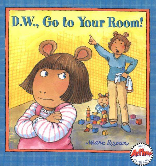 Dw Go To Your Room Book