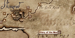 Priory of the Nine MapLocation