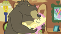 Bear kisses Fluttershy S3E13.png