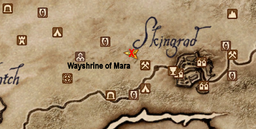 Wayshrine of Mara Maplocation