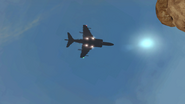 Harrier Strike hovering MW2