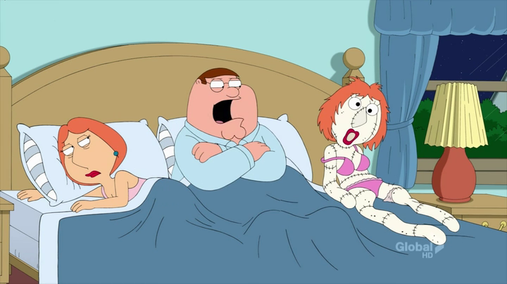 Peter and louis sex family guy