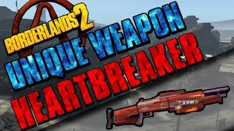 Borderlands 2 - Heartbreaker - Unique Weapon