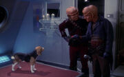 Porthos with Ferengi