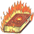 Tome of Fire FFIII Art