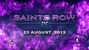 Saints Row IV Announce Teaser - release date