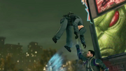 Saints Row IV Announce Teaser - super punch