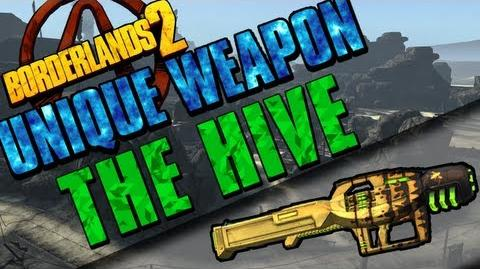 Borderlands 2 - The Hive - Unique Weapon