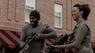 Prey Tyreese and Sasha Laugh