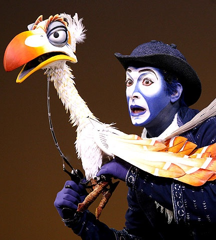 Image - Zazu musical.jpg - DisneyWiki Lion King Broadway Zazu