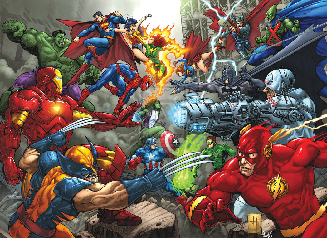 Marvel vs dc clash of heroes game ideas wiki