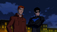 Kid Flash and Nightwing