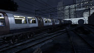 Tube train Mind the Gap MW3