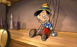 Pinocchio in the Teacher&#39;s Pet movie
