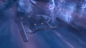 NX01 in neutronic storm