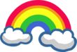 Emoticons Rainbow 2013