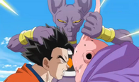 Bills vs Gohan y Buu