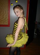 Emily Kinney Halloween bee cute costume