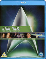 Star Trek V The Final Frontier Blu-ray cover Region B