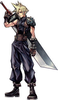 Cloud Strife Dissidia