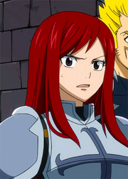 Erza&#39;s surprise