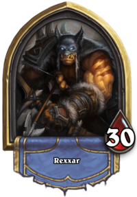 RexxarHearthstone