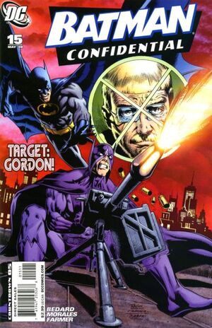 Cover for Batman Confidential #15 (2008)