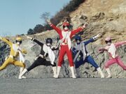 Goggle V (Turboranger special)