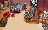 Rockhopper's Arrival Party Coffee Shop