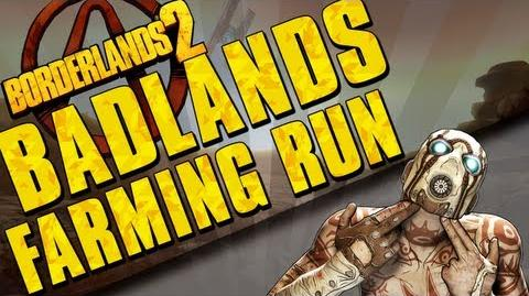 Borderlands 2 - Arid Nexus Badlands - Farming Run
