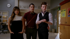 Tina Blaine Kurt TheNewRachel