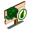 Organic Broccoli Mastery Sign-icon