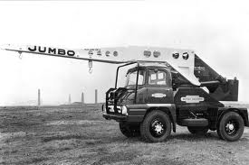 1963 TAYLOR JUMBO Ford Thames crane