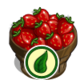 Organic Strawberry Bushel-icon