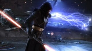 Darth vindican in combat