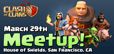 Clash of Clans meet-up in San Francisco TOMORROW - Clash of Clans Wiki