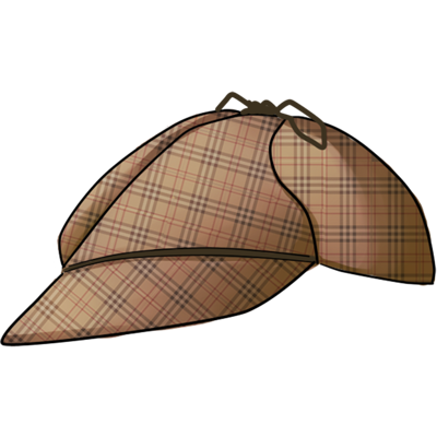 Chapéu Sherlock